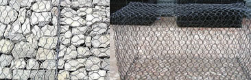 Gabions for Levees Construction