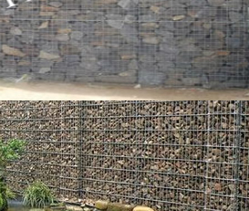 Hot Dipped Gabion Mesh Stone Filling Cells