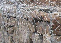 Gabions of 8x10 double twisted hexagonal steel woven wire mesh